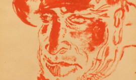 Георгий Нисский. Портрет мужчины в шляпе
