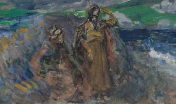 Коровин и ученики. В Библиотеке искусств имени А. Боголюбова.