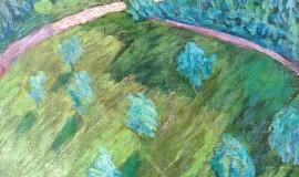 Александр Гауш — Сад из окна
