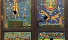 Леонид Пурыгин — Посвящение серпу и молоту (створки)