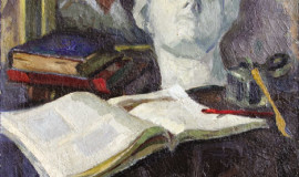 Абрам Моносзон — Натюрморт с картиной