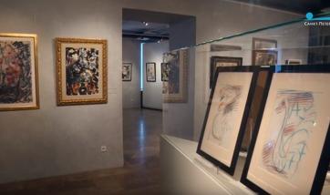 Видео с выставки Анатолия Зверева в Новом музее
