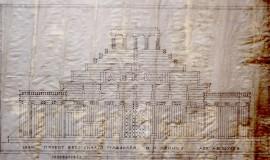 Проект деревянного мавзолея В.И. Ленина
