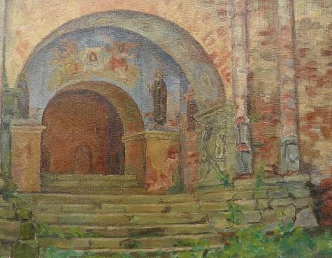 Коновалова Александра. Старые ворота.