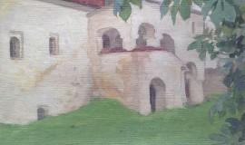 Николай Шестопалов — Уголок Саввино-Сторожевского монастыря. Звенигород