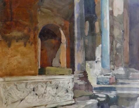 Шестопалов Николай. Forum Romanum. St.Maria Antiqua.