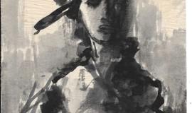 Михаил Соколов. Девушка в шляпе