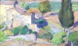 Григорий Пожидаев — Пейзаж в провансе