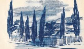 Георгий Нисский — Облака над кипарисами
