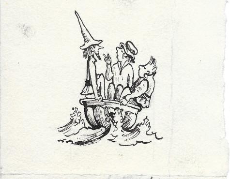 Кабаков Илья. Три моряка в одном тазу.