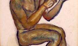 Давид Бурлюк — Обнаженный Юноша