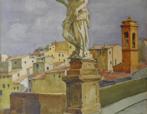 Шестопалов Николай. Ponte St. Trinita во Флоренции.