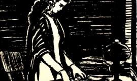 Меер Аксельрод — Женщина у стола