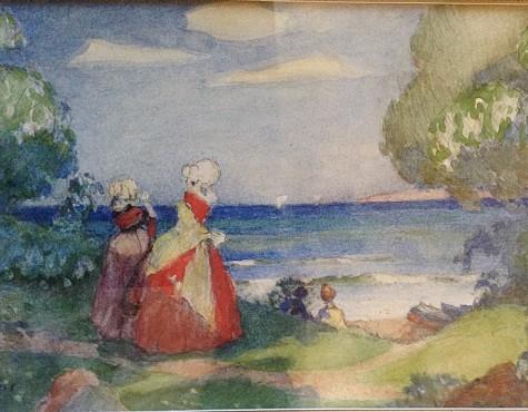 Нилус Петр. Прогулка вдоль моря.