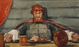 Александр Бубнов — Дружинник на пире