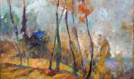 Абрам Моносзон — Предрассветный туман. Коломенское