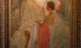 Дама с солнечным зонтиком