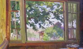 Александр Бубнов — Окно террасы