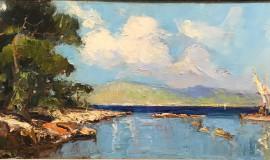Георгий Лапшин — Морской пейзаж