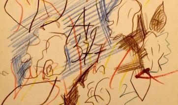 Графика Анатолия Зверева в галерее Веллум!