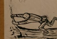 Соостер Юло. Фигура в движении (оборотная сторона