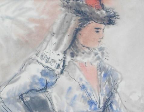 Софронова Антонина. Соломония Сабурова.
