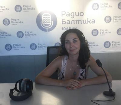 Любовь Агафонова. Интервью на радио Балтика