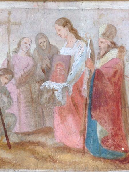 Бронников Федор. Крестный ход по случаю обретения чудотворного Образа Казанской Божией Матери в 1579 году.