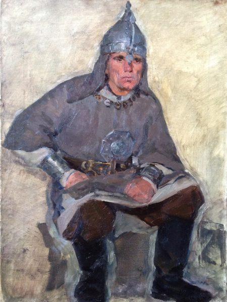 Бубнов Александр. Русский дружинник.