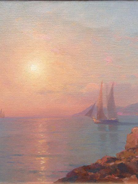 Ганзен Алексей. Восход солнца на море.
