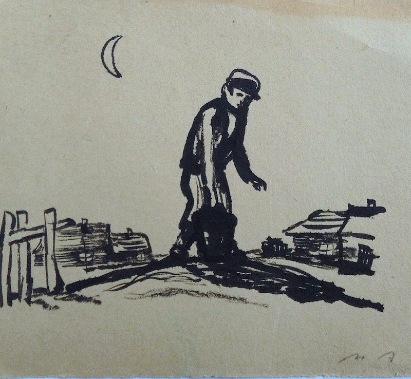 Аксельрод Меир (Марк) Моисеевич. Иллюстрации к еврейским рассказам.