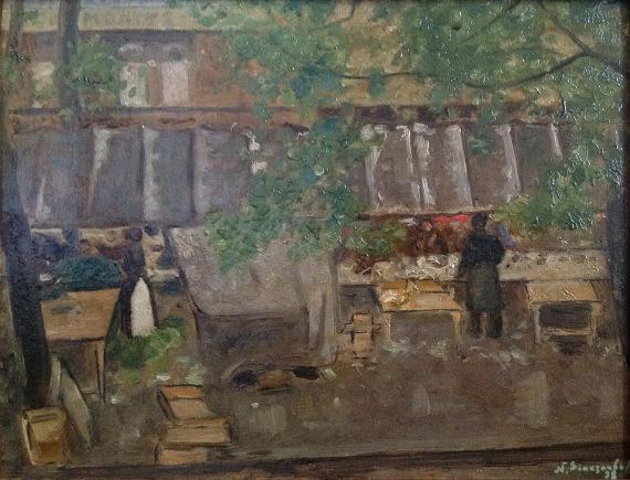 Николай Синезубов «Парижский рыночек»