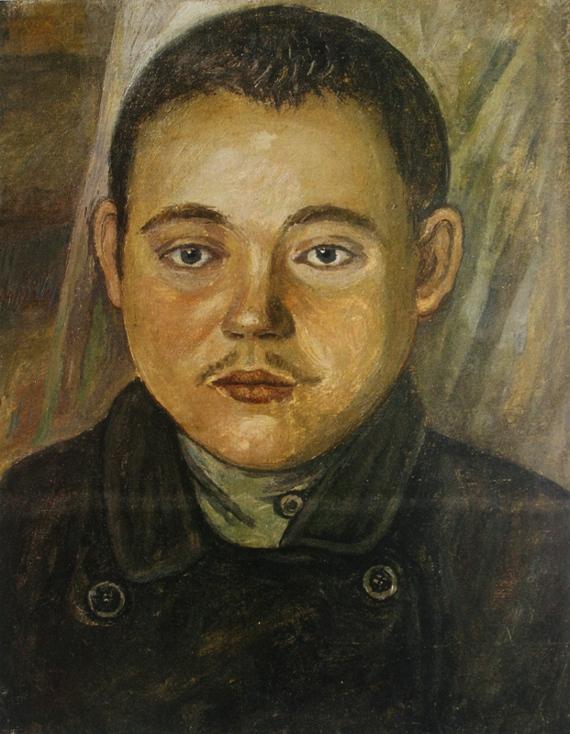 Ефим Честняков «Внучок» 1920-е