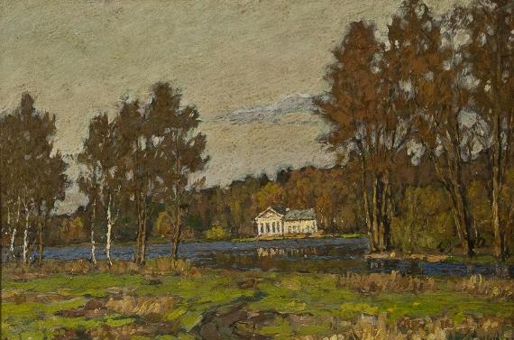 Петр Петровичев «Парк Горького» 1920-е