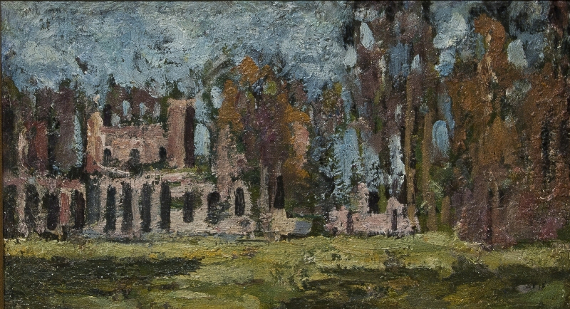 Петр Петровичев «В парке» 1920-е