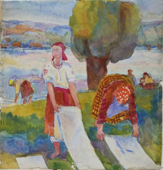 """Коновалова А.С. """"Иллюстрация к русским народным сказкам"""" 1920-е гг"""