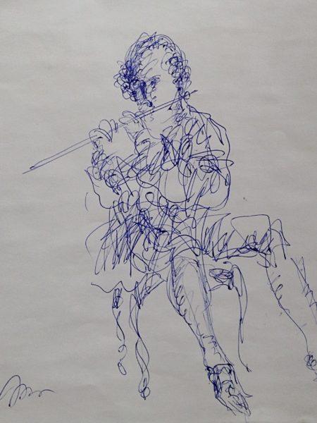 Хамдамов Рустам. Волшебная флейта.