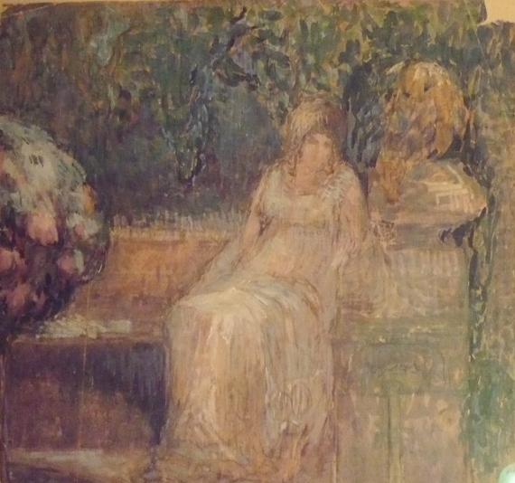 Коновалова Александра. Ожидание. 1900-е