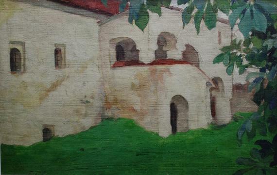 Николай Шестопалов. Святогорский монастырь. 1920-е