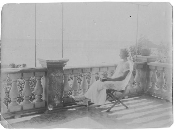 Александра Коновалова. Фотография. 1900-е годы.