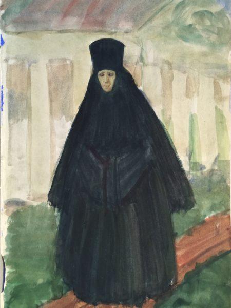 Яковлев Александр. Монахиня.