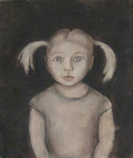 Табенкин Илья. Девочка с косичками.