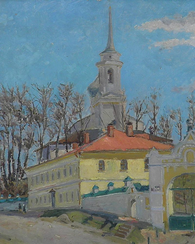 Кац Илья. Святогорский монастырь.