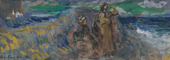 Константин Коровин «Сказка о царе Салтане» 1907