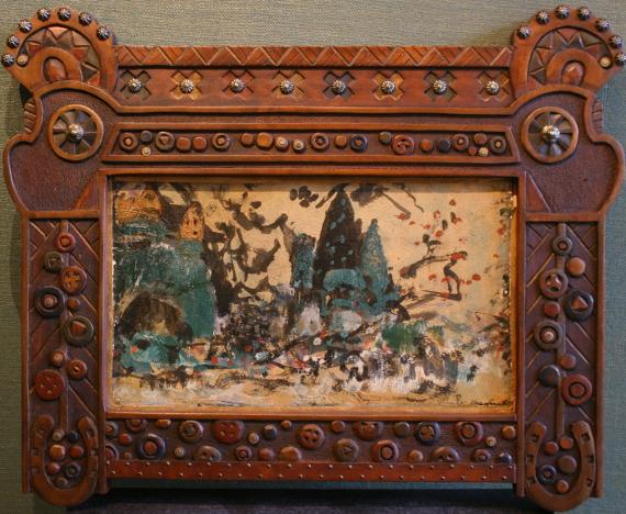 Константин Коровин «Эскиз декорации» 1907