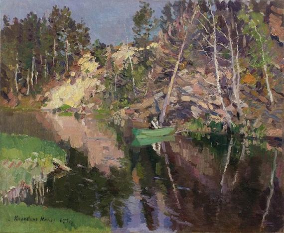 Константин Коровин «Рыбалка. Охотино» 1911