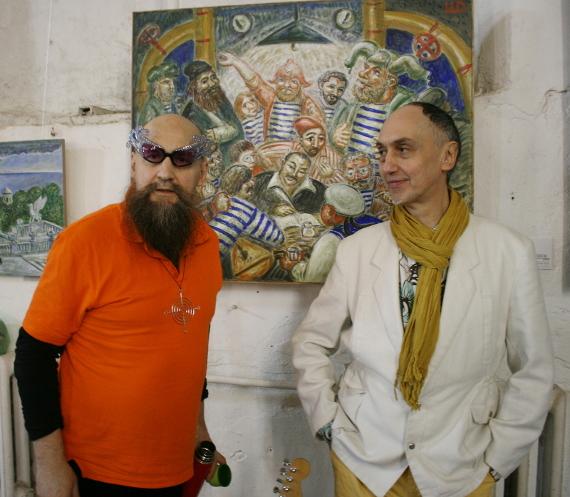 Герман Виноградов и Павел Хотин