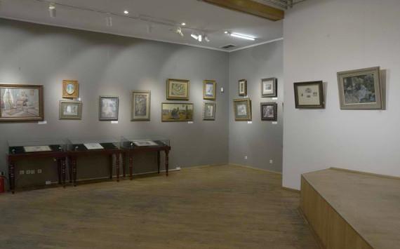 Фрагмент экспозиции выставки «Отражение. Графика и живопись русского символизма».