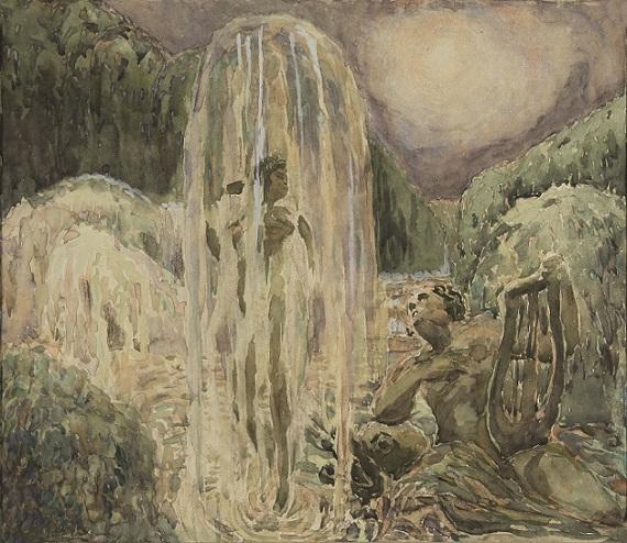 Александра Коновалова «Дионис и Ариадна» 1900-е.