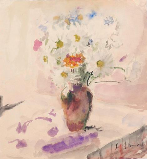Артур Фонвизин «Полевые цветы» 1950-е